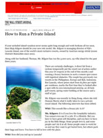 How to Run a Private Island