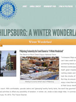 Philipsburg: A Winter Wonderland